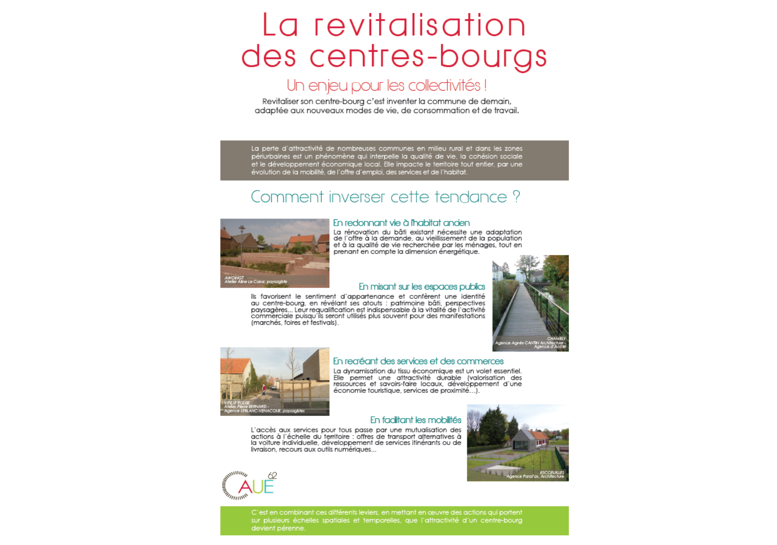 revitalisation centres bourgs